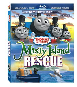 Thomas & Friendsª: Misty Island Rescue BluRay Box Art