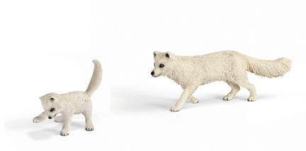 Arctic-Fox-Family