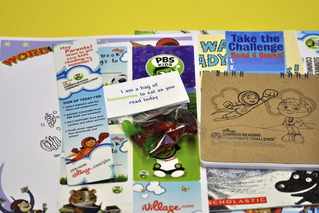 iVillage and PBS Kids Summer Reading Challenge - That's It LA
