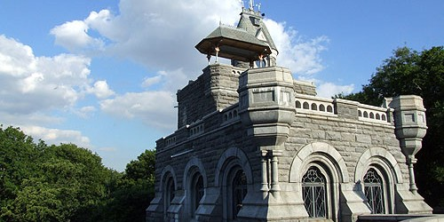 NYC VisIT: Ice Festival at Belvedere Castle
