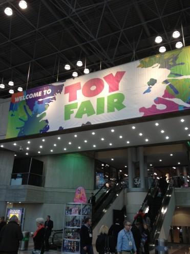 Toy Fair Sign