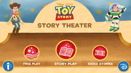 Tech Tuesday – Toy Story: Story Theater app