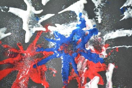 Gavin's Fireworks Artwork!