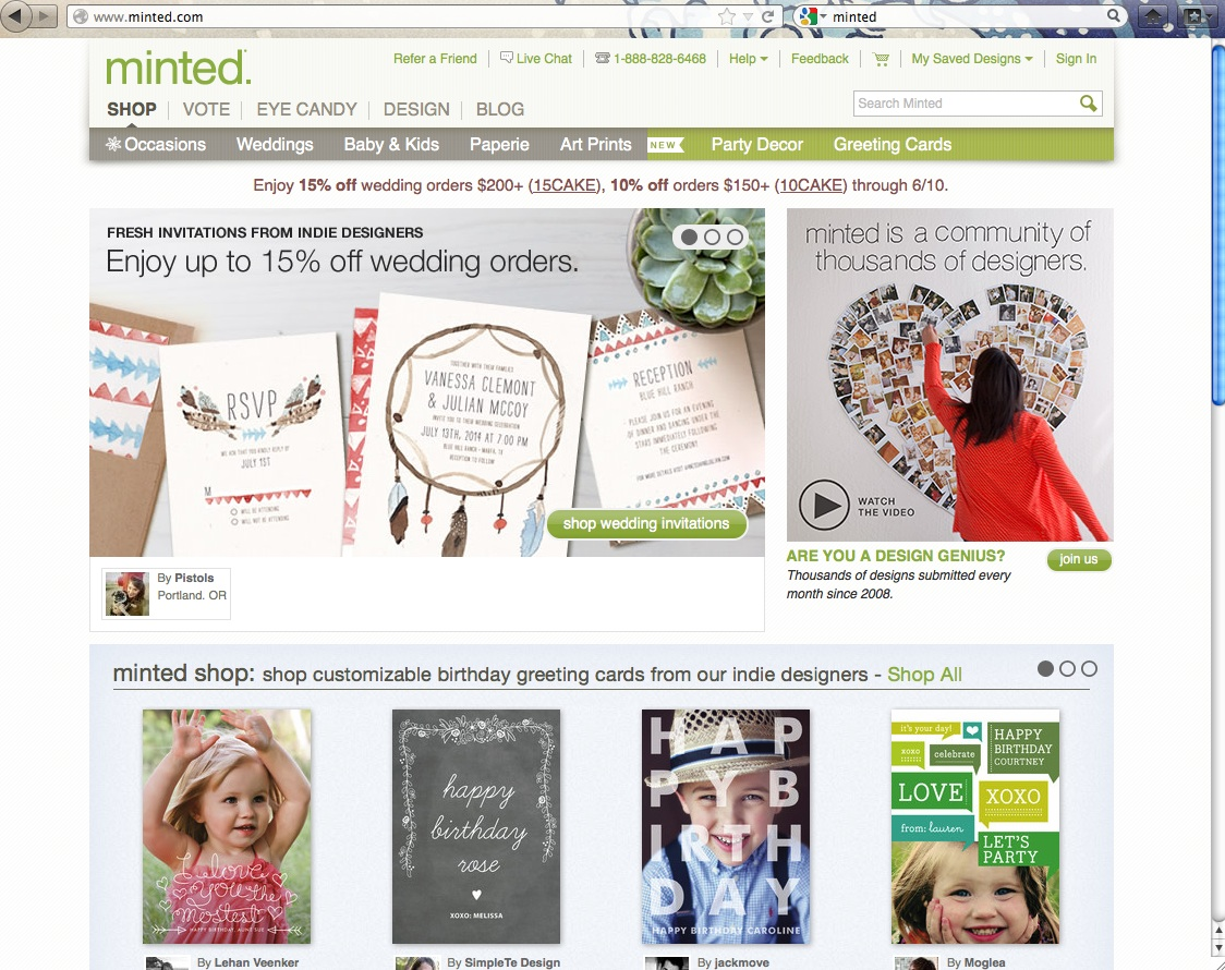 minted_website