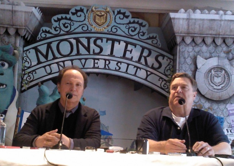 Billy crystal, Monsters University