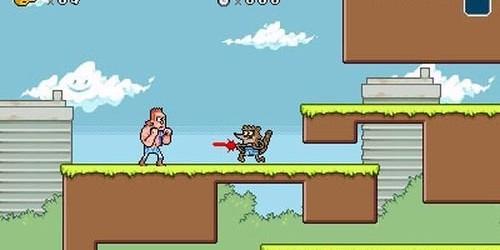 Regular Show: Mordecai & Rigby in 8-Bit Land On Nintendo 3DS