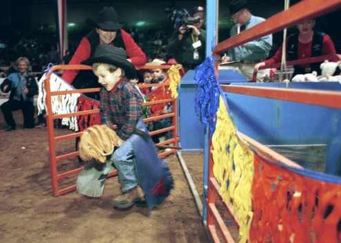 The Stick Horse Rodeo at the National Western Stock Show. Photo courtesy NWSS.