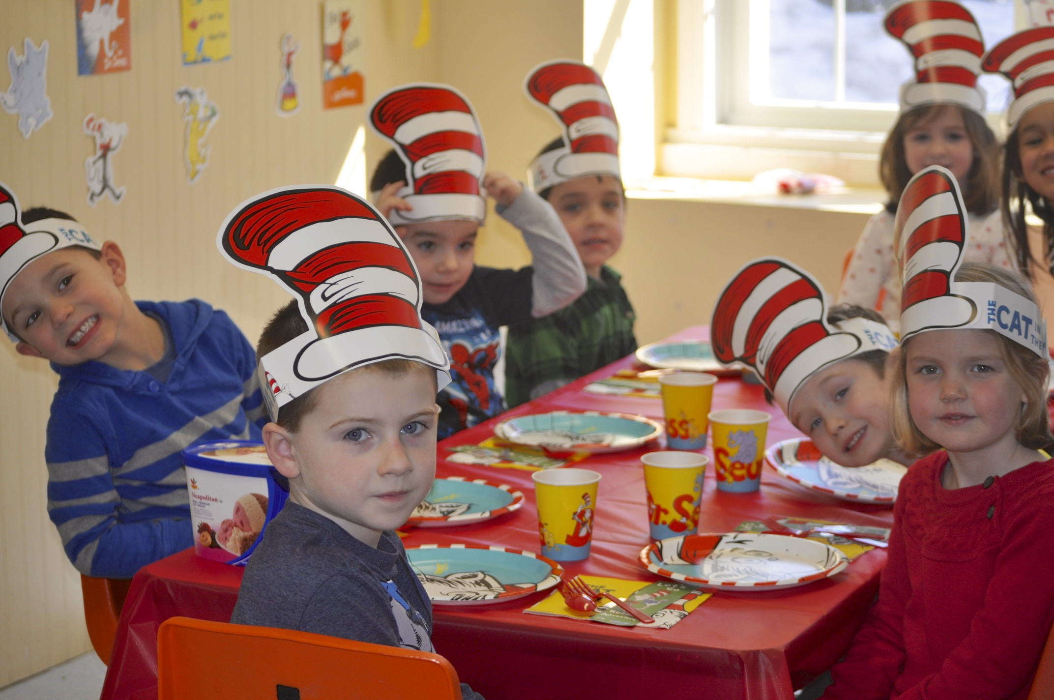 cat in the hat table