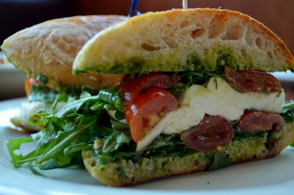 Stonefire grill Caprese Sandwich Photo by @CatalinaInLA