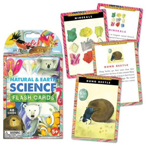 Natural & Earth Science Flash Cards for Ages 5+