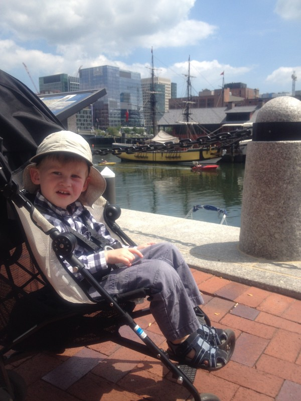 Kids can view the Boston Tea Party Museum right across the water from the Childrens' Museum