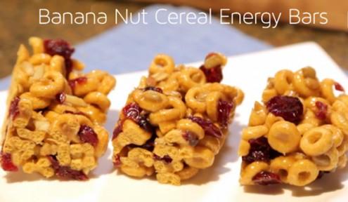 Health Bar, Banana Nut Cereal Bars, Energy Bars, UHC TV, UHC TV Bars