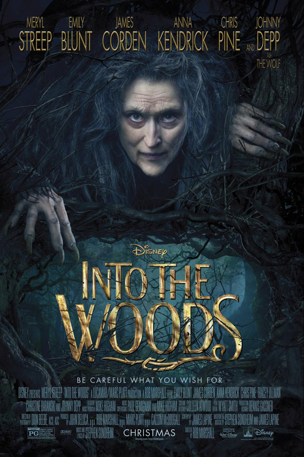 Tracey Ullman, Meryl Streep, Into the woods, into the woods movie tickets