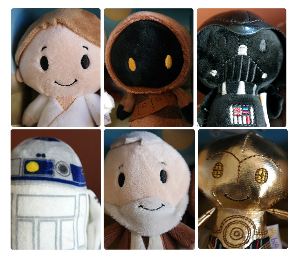 itty bittys, itty bittys star wars collection, Star Wars gifts, stuffed animals