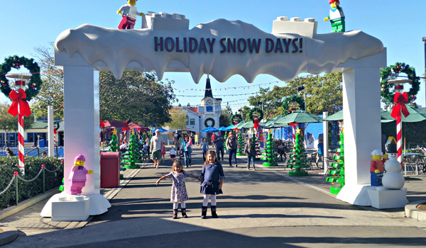 Legoland Holiday Snow Days, Legoland ice skating, OC Ice Skating, Snow play in Socal