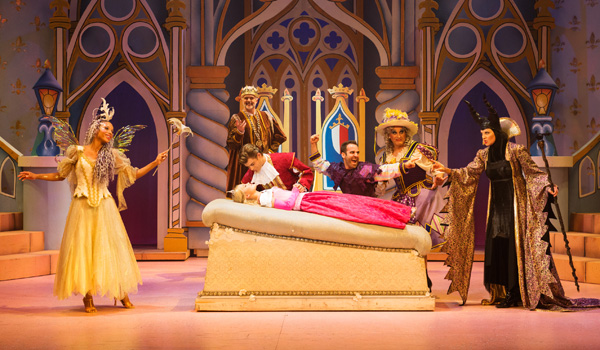 SLEEPING BEAUTY Pasadena Playhouse, Panto at the playhouse, holiday theater, lucy lawles