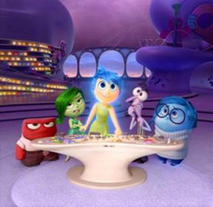 Pixar Disney Inside Out, Animation Inside Out