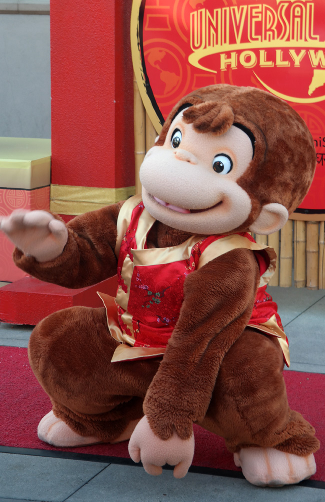 Curious George, Lunar celebration, Year of the Ram, Family Attractions Los Angeles
