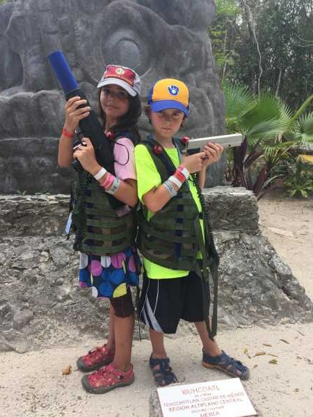 laser tag royal caribbean