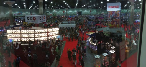 show floor