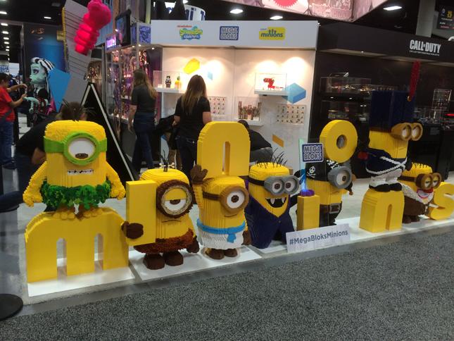 Megabloks, Minions, Kids toys