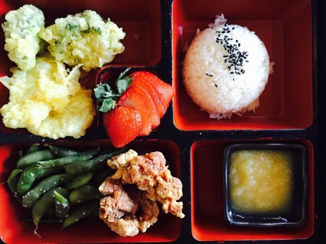 sushi roku bento okosama