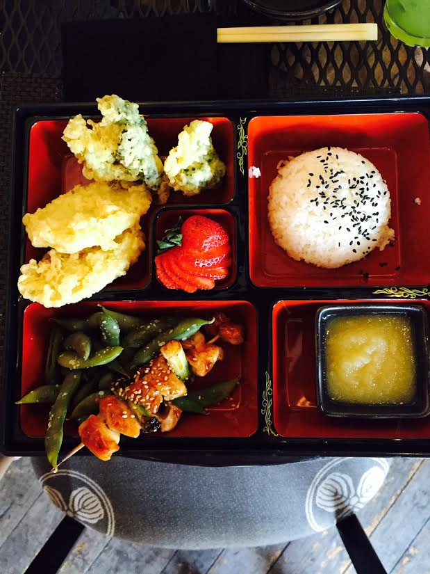 sushi roku chicken bento