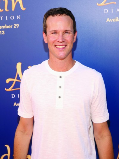 "BURBANK, CA - SEPTEMBER 27: Actor Scott Weinger attends a special LA screening celebrating Diamond Edition release of ""ALADDIN"" at The Walt Disney Studios on September 27, 2015 in Burbank, California. (Photo by Jesse Grant/Getty Images for Disney) *** Local Caption *** Scott Weinger"