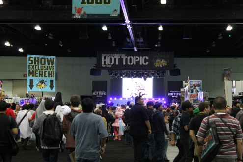 hot topic main stage