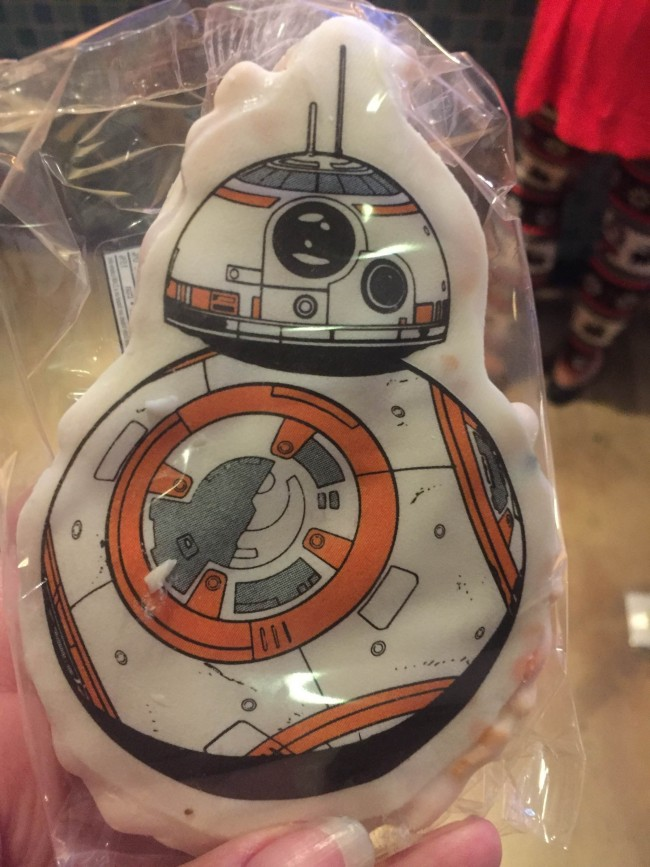 BB-8 Rice Crispy treat, BB-8 Recipe, BB-8 Craft