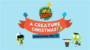 wild kratts pbs kids christmas