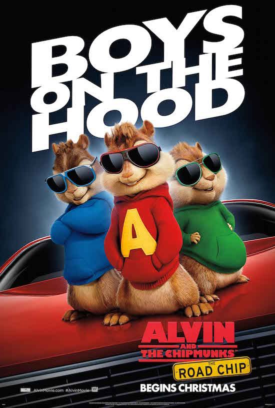 The Road Chip, Alvin and the chipmunks movie