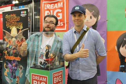 Yuna Dream Big Friends: Klim Kozinevich and David Horvath (DesignerCon 2016)