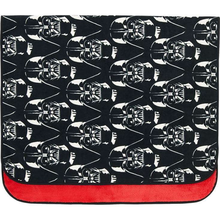 For that Star Wars fan in our home, this cozy fleece blanket will serve us well in the stands at the hockey rink.