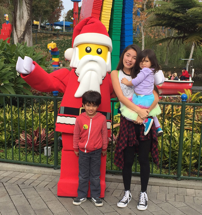 Legoland holiday snow days