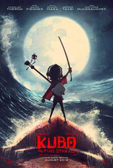 Kubo and the two strings, Focus features, laika stop animation Kubo, kubo trailer