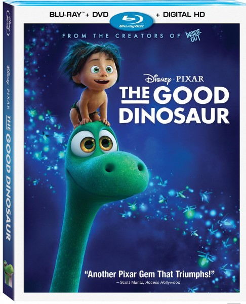 The Good Dinosaur, Good Dinosaur blu-ray