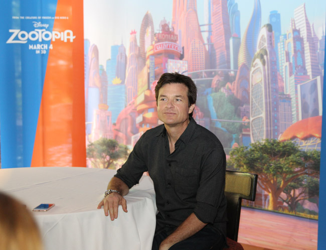 Jason Bateman, Zootopia voices