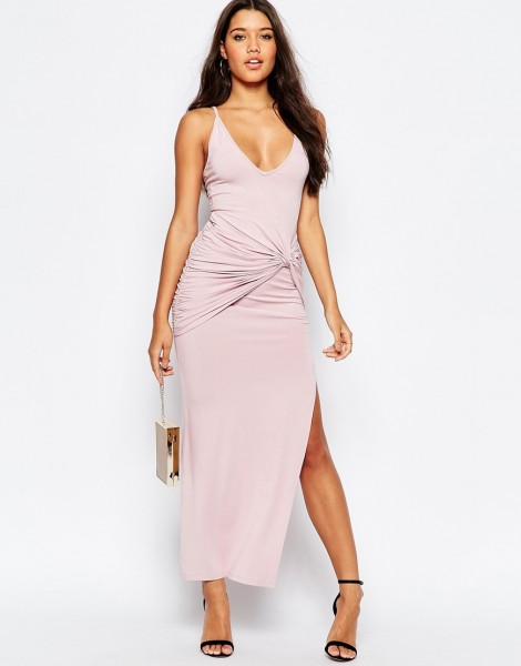 Strappy Knot Maxi Dress