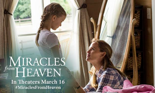 jennifer garner miracles from heaven