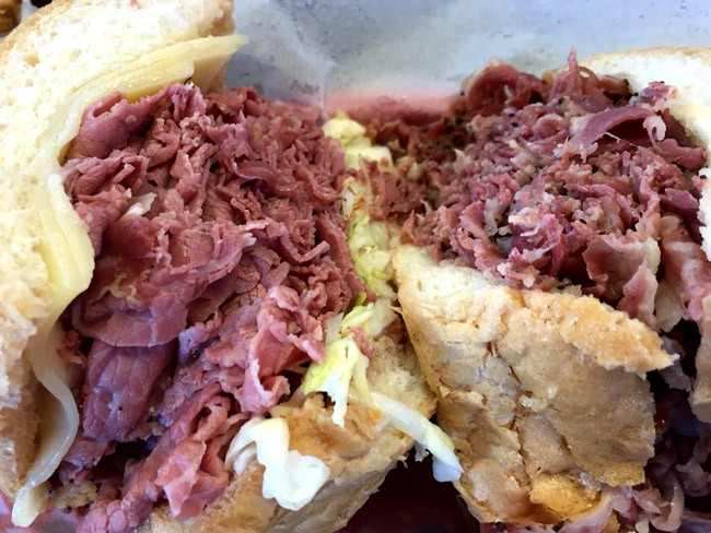 Johnnie's Pastrami, best french dip in los angeles