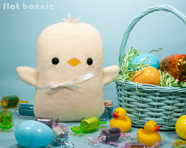 Easter-Bunny-Flat-Bonnie-Adopt-A-Plush-Baby-Chick