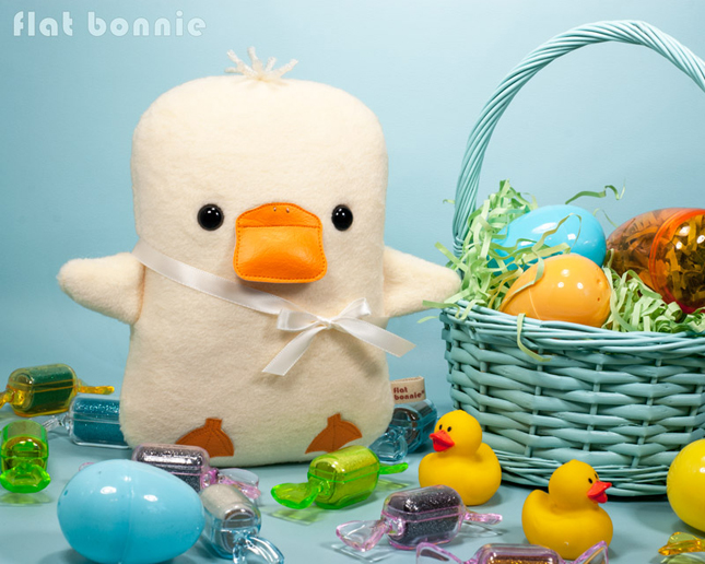 Easter-Bunny-Flat-Bonnie-Adopt-A-Plush-Baby-Duck