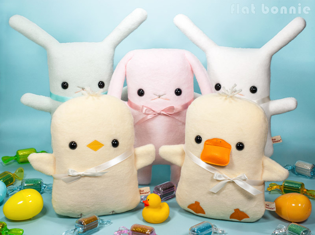 Easter-Bunny-Flat-Bonnie-Adopt-A-Plush-Group