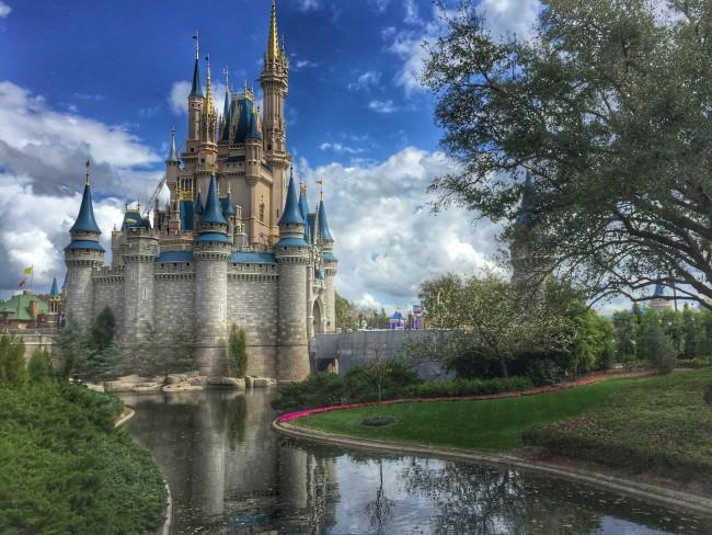magic kingdom photo castle