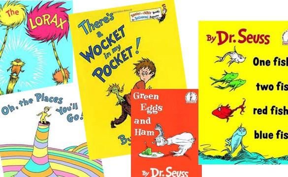 Dr Seuss Birthday, Dr Seuss books