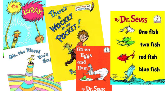 Dr Seuss Birthday, Dr Seuss books