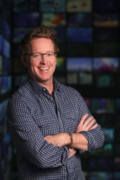 Director Andrew Stanton is photographed on February 4, 2016 at Pixar Animation Studios in Emeryville, Calif. (Photo by Deborah Coleman / Pixar)