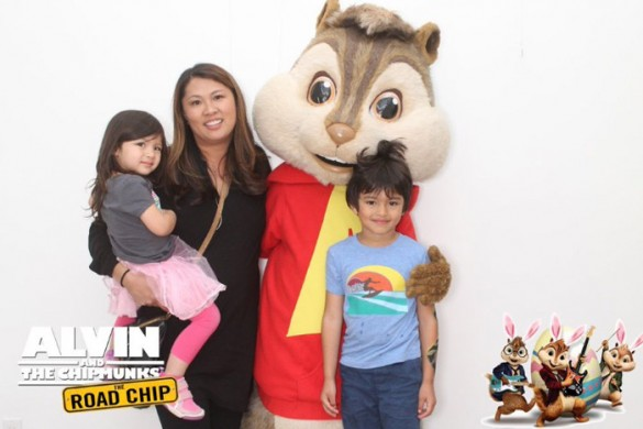 Au Fudge, Alvin and the chipmunks