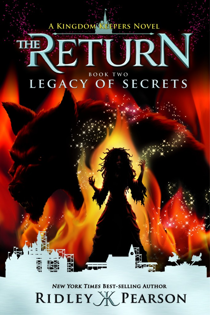 Legacy of secrets, Disney publishing, Ricley Pearson, Return of secrets